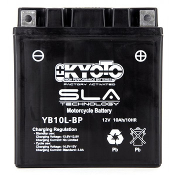 Batterie YB10L-BP SLA-AGM -...